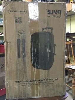 "Pyle 1600 Watt 15"" Bluetooth PA Speaker Portable Sound Syste"