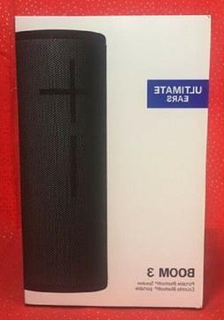 Ultimate Ears BOOM 3 Portable Bluetooth Speaker, Night Black