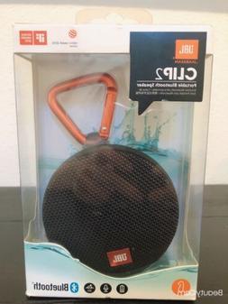 JBL Clip 2 Portable Bluetooth Speaker Waterproof Black SEALE