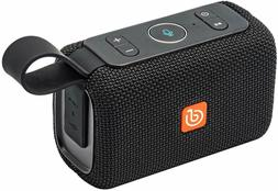 DOSS E-go Alexa-Enabled Portable Bluetooth Speaker IPX6 Wate
