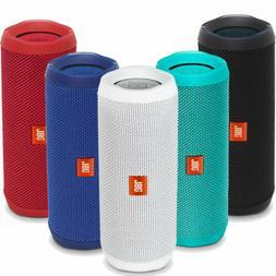 JBL Flip 4 Bluetooth Portable Waterproof Stereo Speaker Whit