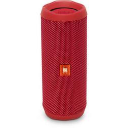 JBL Flip 4 Portable Bluetooth Speaker Red
