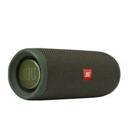 JBL - Flip 5 Portable Bluetooth Speaker -forest green