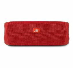 JBL Flip 5 Portable Waterproof Bluetooth Speaker Red