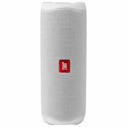 JBL Flip5 Waterproof Portable Bluetooth Speaker -White