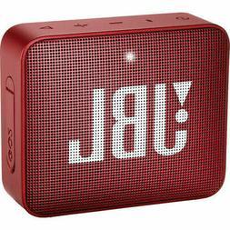 JBL GO 2 Portable Bluetooth Waterproof Speaker Red