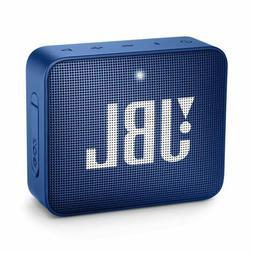 JBL Go 2 Portable Waterproof Bluetooth Speaker, Deep Sea Blu