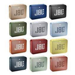 JBL Go 2 Waterproof Portable Wireless Bluetooth Speaker, Mul