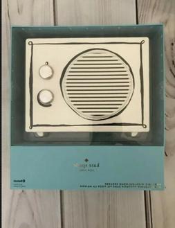 KATE SPADE Portable Wireless Bluetooth Home Speaker 18hr Pla