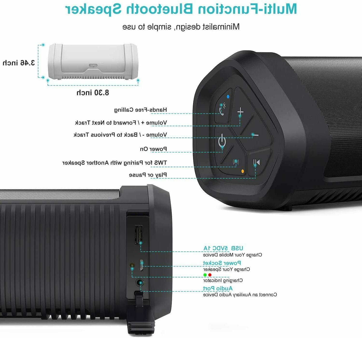 NYNE Boost Portable Bluetooth Speakers.