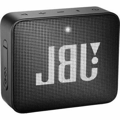 go 2 portable bluetooth waterproof speaker black