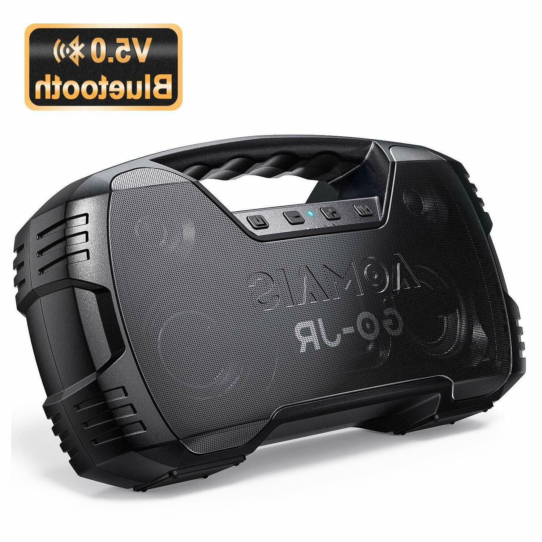 go bluetooth speakers waterproof portable indoor outdoor