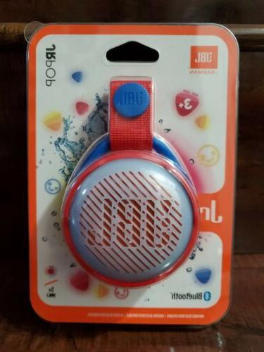 jr pop portable bluetooth speaker for kids