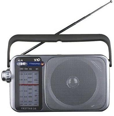 r24 portable am fm sw1 sw2 radio