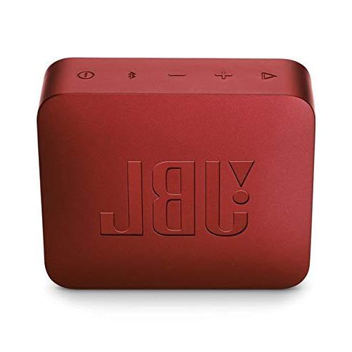 JBL red, 4.3 x 1.5