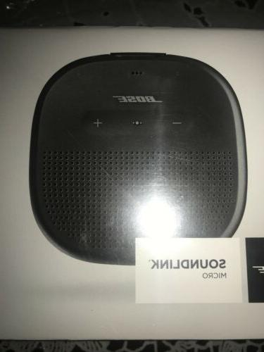 soundlink micro portable wireless bluetooth speaker black