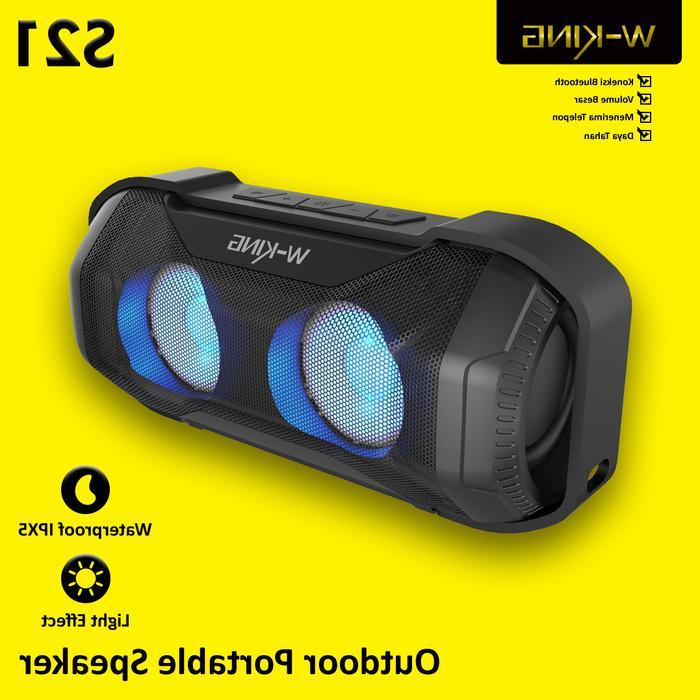 speaker bluetooth outdoor portable speakers wking waterproof