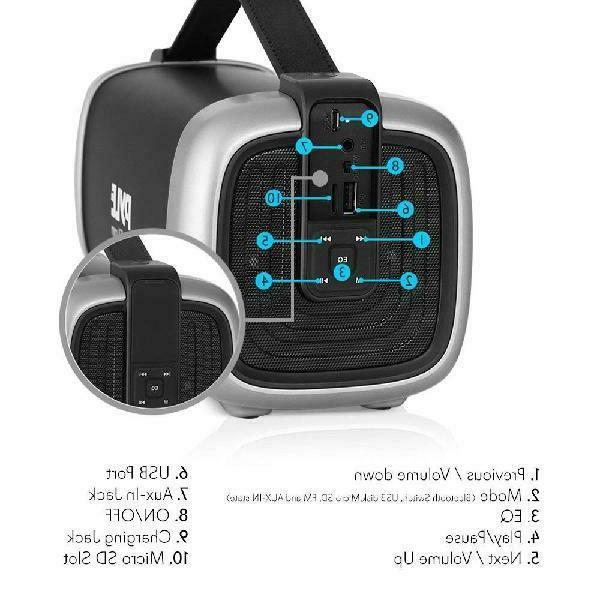 Pyle Speaker - Power Rugged Compact