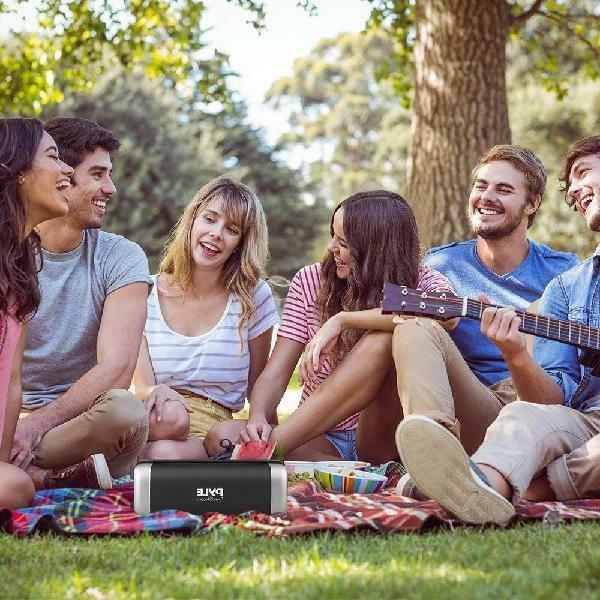 Pyle Portable Bluetooth Speaker - Power S