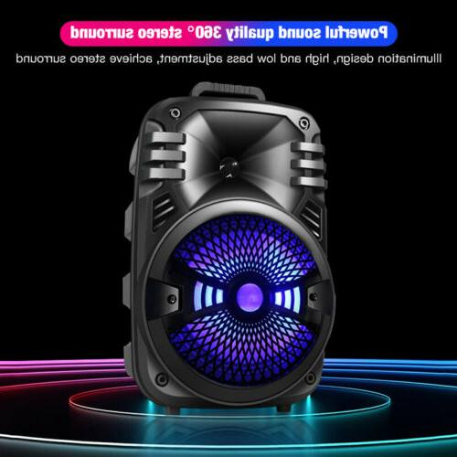 Wireless Portable FM Speaker Heavy Sound System Party
