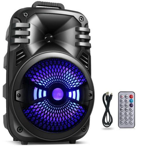 Wireless Portable FM Bluetooth Speaker Subwoofer Heavy Sound Party