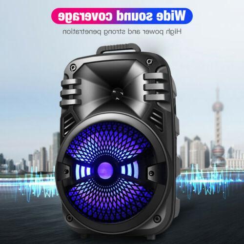 Wireless Portable Speaker Subwoofer Sound System