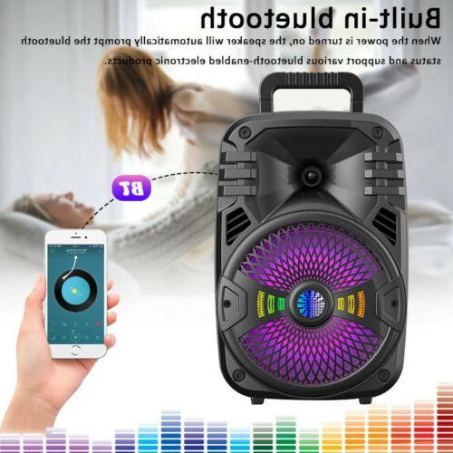 Wireless Portable FM Speaker Sound Party