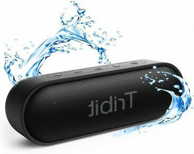 xsound go bluetooth speaker ipx7 waterproof 12w