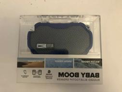 NEW Altec Lansing Baby Boom Rugged Bluetooth Speaker,Blue,Wa