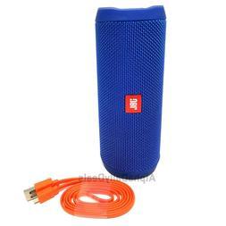 New JBL Flip 4 Blue Speaker Waterproof Portable Bluetooth Wi