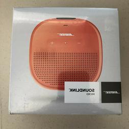 Bose Orange SoundLink Micro Bluetooth Speaker