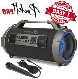 loud bluetooth speaker portable wireless boombox aux