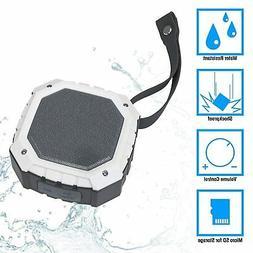 Portable Bluetooth Speaker With Wireless, Waterproof, & Subw
