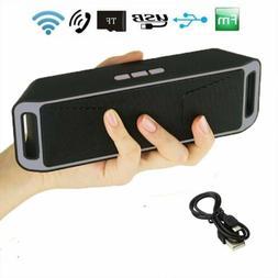 Portable Wireless Bluetooth Speaker FM Stereo For Smart Phon