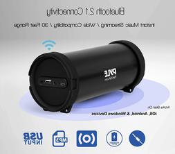 Portable Wireless Boombox Stereo System Bluetooth Speaker Ou