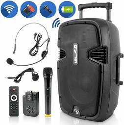 Pyle PPHP1241WMU Portable Bluetooth Loudspeaker - Active PA