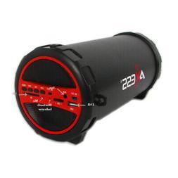 Axess Spbt1031-Rd Portable Bluetooth Indoor/Outdoor Hi-Fi Cy