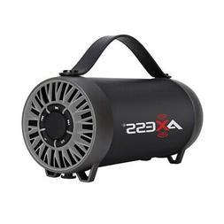 Axess Spbt1056Sl Portable Bluetooth Speaker Built-In Usb Sup