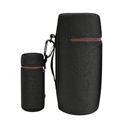 Water-Resistant Lycra Zipper Carrying Case Bag Plus Charging