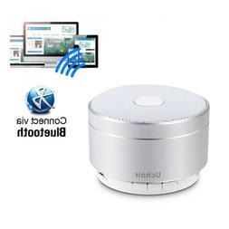 Wireless Bluetooth Speaker Portable Mini Super Bass Silver R